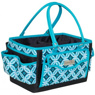 Everything Mary Scrapbook Organizer Teal/Black