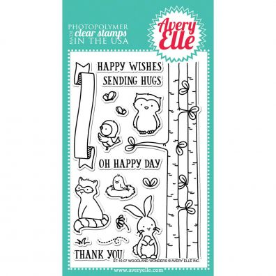Avery Elle Clear Stamp - Woodland Wonders
