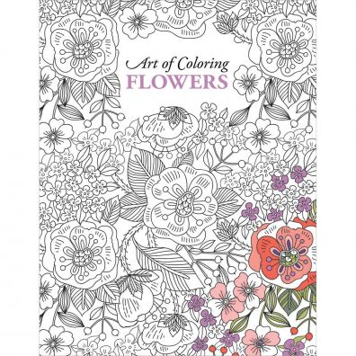 Flowers Color Art Colouring Book