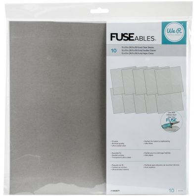 We R Memorykeepers Fuseables Clear Sheets