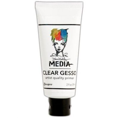 Dina Wakley Clear Gesso - Tube