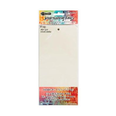 Dylusions Journaling Tags 10 inch - Mixed Media