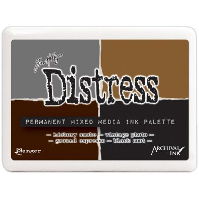 Distress Archival ink Permanent Mixed Media Ink Palette