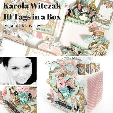 Karola Witczak: 10 Tags in a Box minialbum