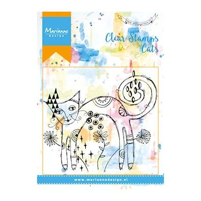 Marianne Design Clear Stamp - Cats 1