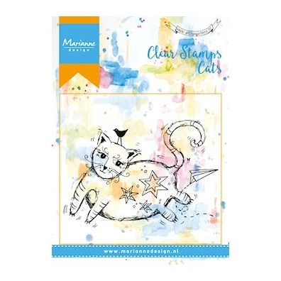 Marianne Design Clear Stamp - Cats 2
