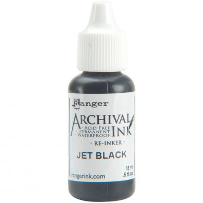 Archival Ink Reinkers - Jet black