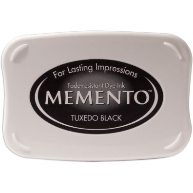 Memento Stempelsværte Tuxedo Black