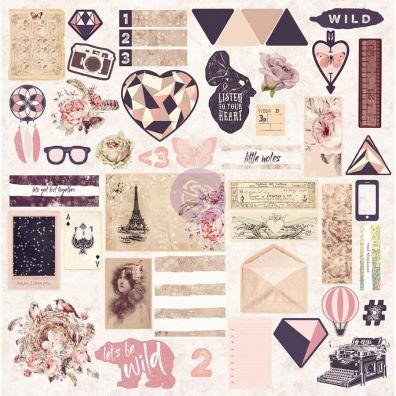 Wild & Free Ephemera Cardstock Die-Cuts-