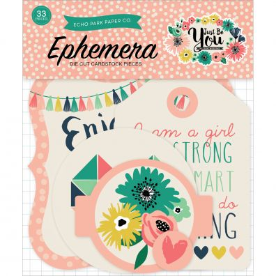 Just Be You Ephemera Cardstock Die-Cuts 33/Pkg-Icons