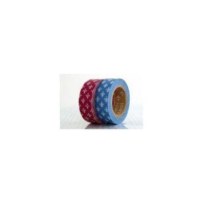 MT Masking tape Cross red og blue