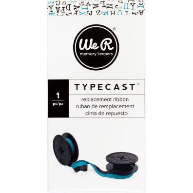 We R Typecast Typewriter Ribbon -Sølv/Sort