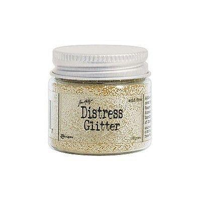 Distressed Glitter - Antique Linen