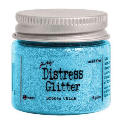 Distressed Glitter - Broken China