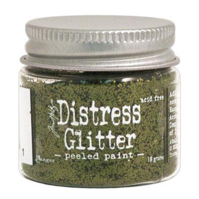 Distressed Glitter - Peeled Paint