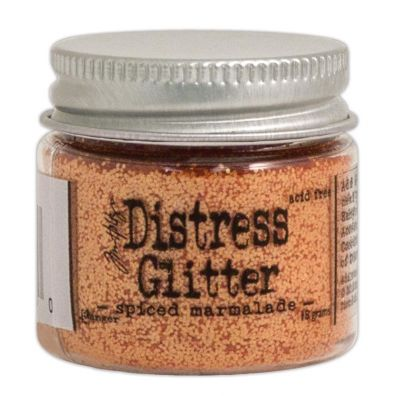 Distressed Glitter - Spiced Marmalade