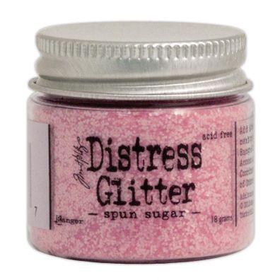 Distressed Glitter - Spun Sugar
