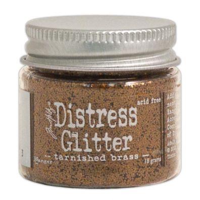 Distressed Glitter - Tarnished Brass