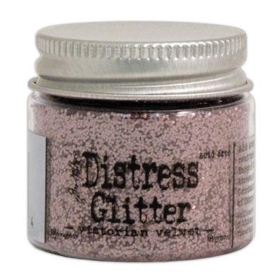 Distressed Glitter - Victorian Velvet