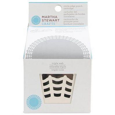 Martha Stewart Circle Border Cartridge-Triple Web