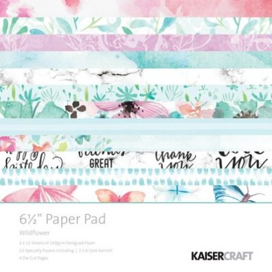"KaiserCraft - Wildflower Collection 6,5""x6,5"" Paper Pad"