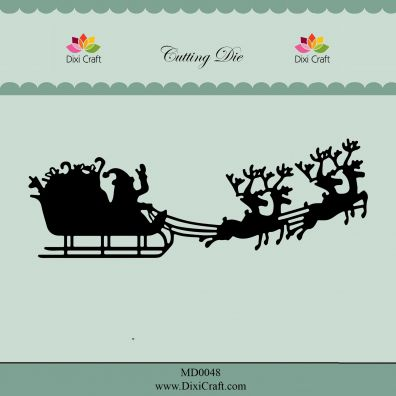 Dixi Craft Die - Christmas Sleigh