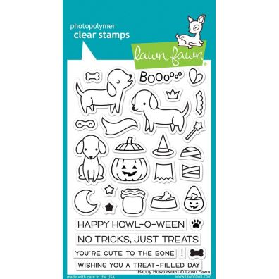 Lawn Fawn Happy Howloween Clear Stamp