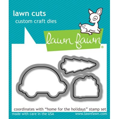 Lawn Fawn Cuts/ dies – Home for the Holidays