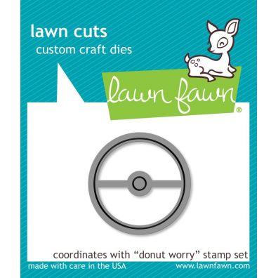 Lawn Fawn Cuts/ dies – Donut Worry