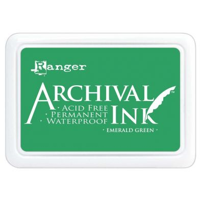 Archival Ink Pads - Emerald Green