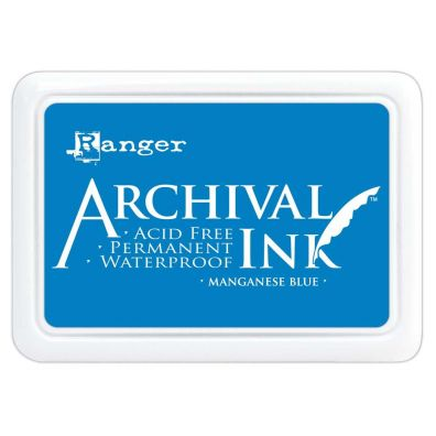 Archival Ink Pads - Manganese Blue