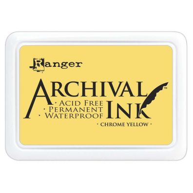 Archival Ink Pads - Chrome Yellow
