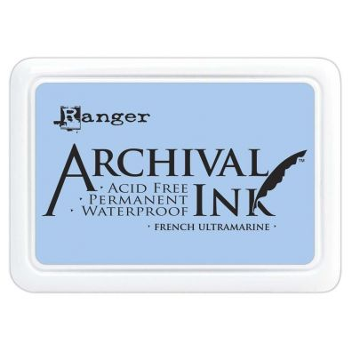 Archival Ink Pads - French Ultramarine