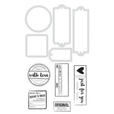 KaiserCraft Dies & Stamps - Handmade Lables