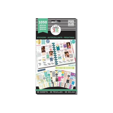 365 Happy Planner Stickers 1050 stk. 30 sider