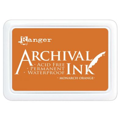 Archival Ink Pads - Monarch Orange