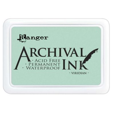 Archival Ink Pads - Viridan