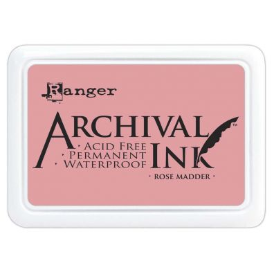 Archival Ink Pads - Rose Madder
