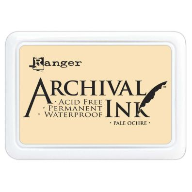 Archival Ink Pads - Pale Orchre
