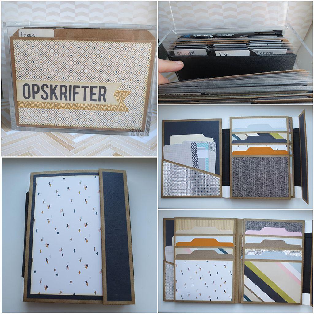 Organisering af 4x6in opskriftkort