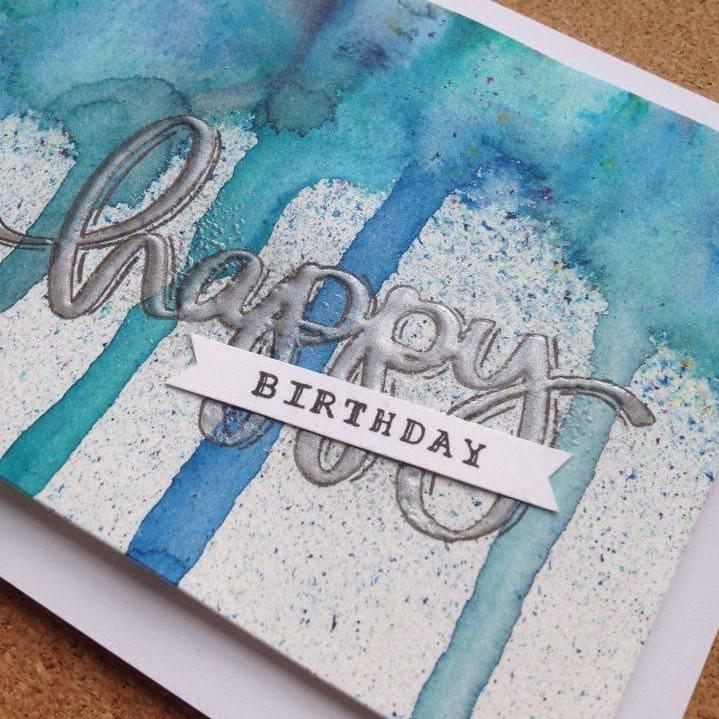 Maskulint fødselsdagskort