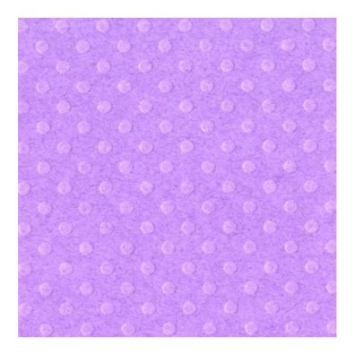Bazzill Dot Karton - Grape Juice