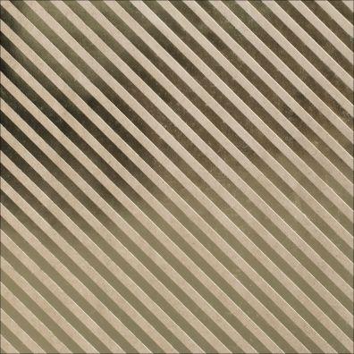 Bazzill Kraft Gold foil Paper - Stripe