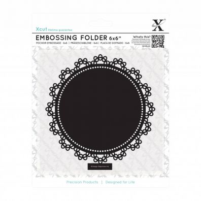 Xcut Embossingfolder Lace Circle