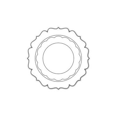 Impression Obsession Dies - Circle Shaker Frame Die