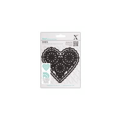 X-Cut Dies - Vintage Notes - Filigree Heart