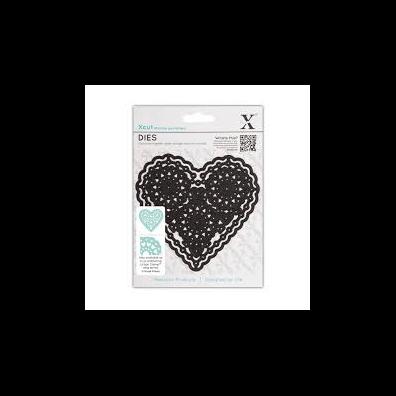 X-Cut Dies - Vintage Notes - Filigree Heart