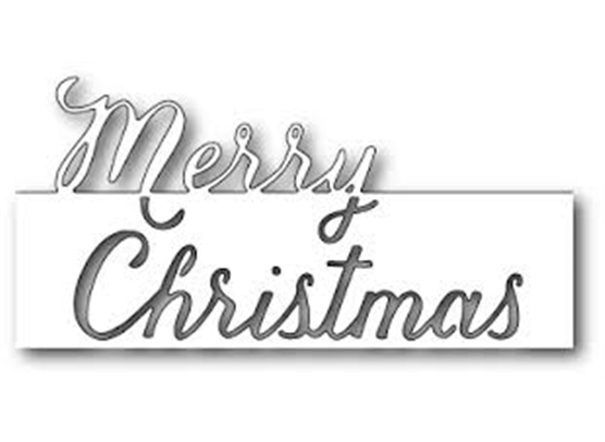 Memory Box Grand Merry Christmas Script