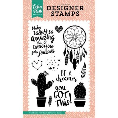 Echo Park - Be A Dreamer clearstamps