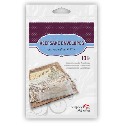 Keepsake Envelopes - selvklæbende